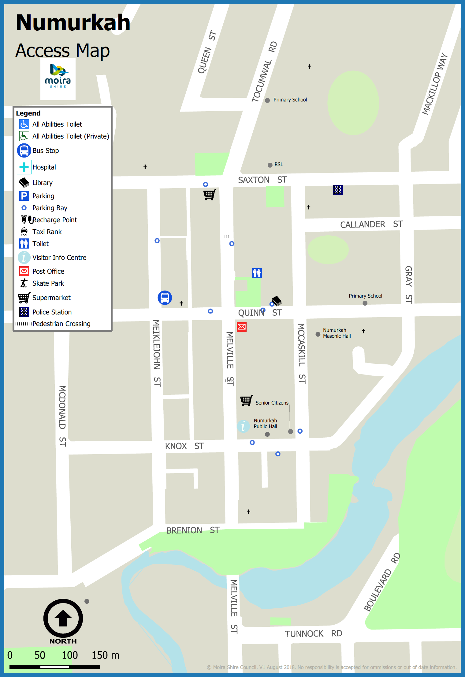 Numurkah Accessibility Map.png